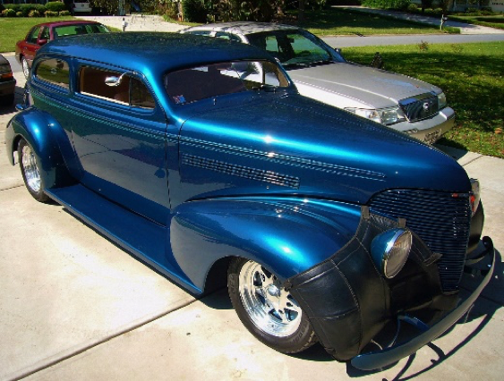 1939 Chevy 2 Door Sedan