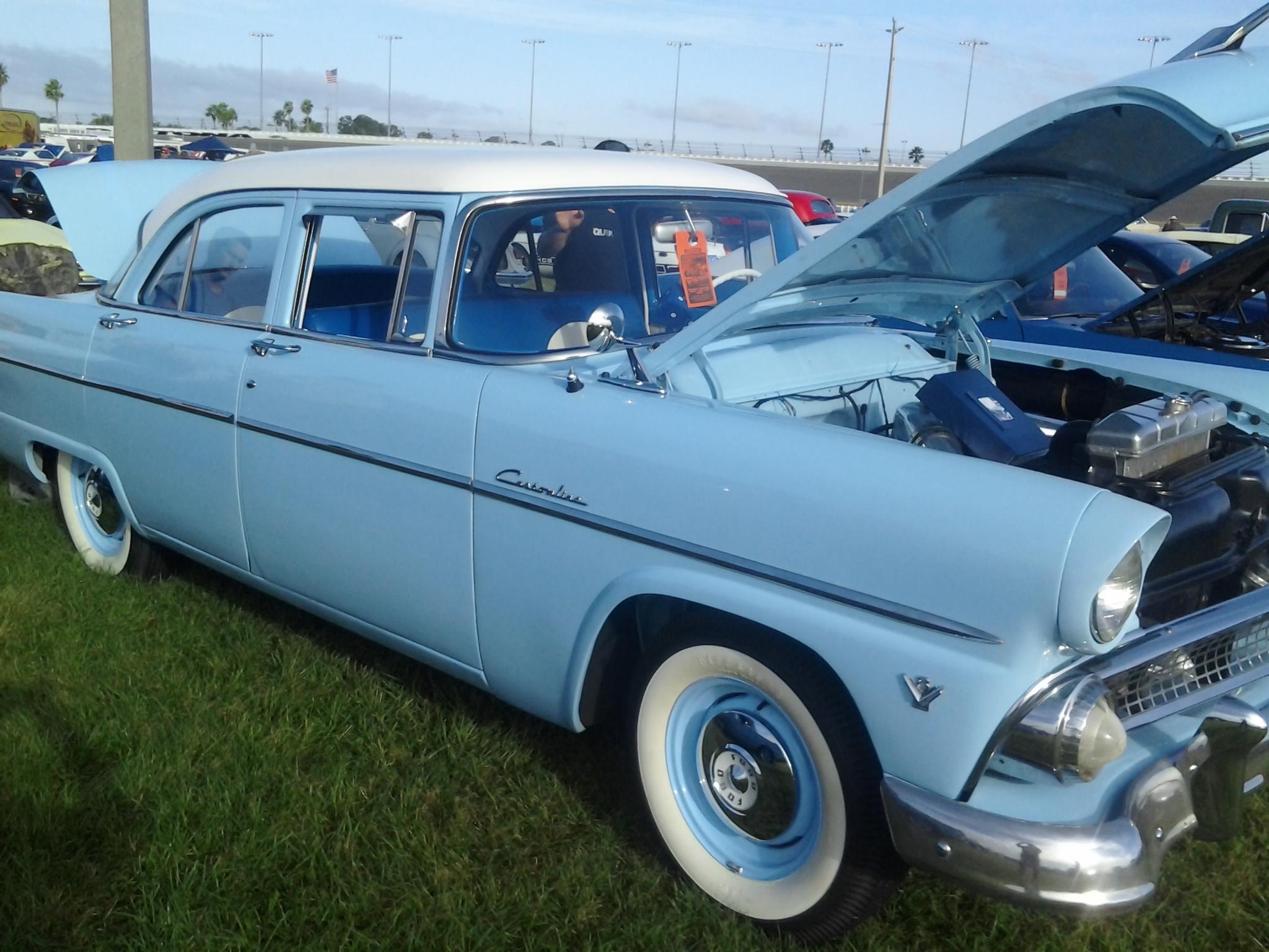 1955 ford customline 4 door great american open road for 1955 ford customline 4 door