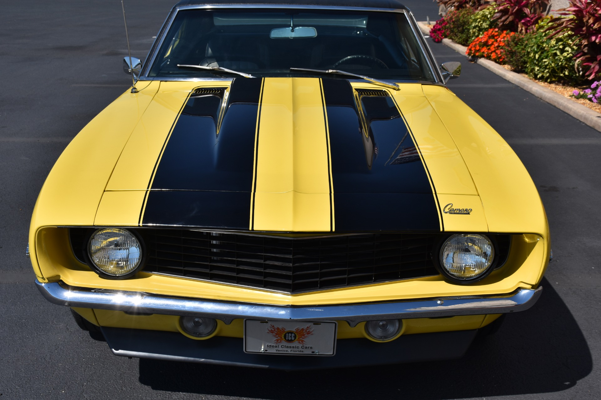 1969 Chevy Truck For Sale >> 1969 Daytona Yellow Chevy Camaro For Sale