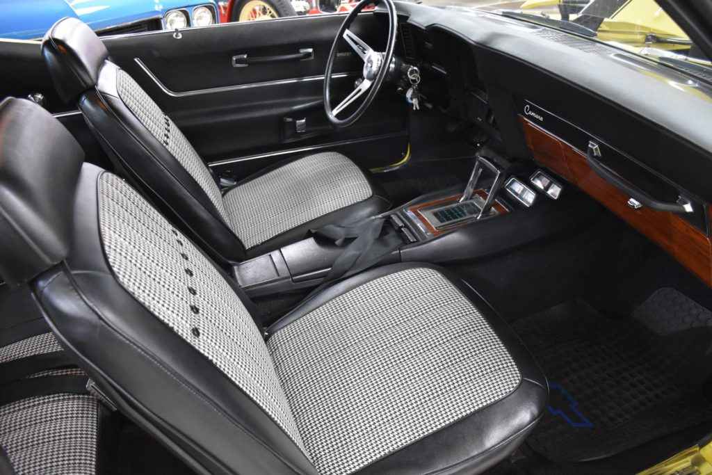 1969 Camaro For Sale - Interior View