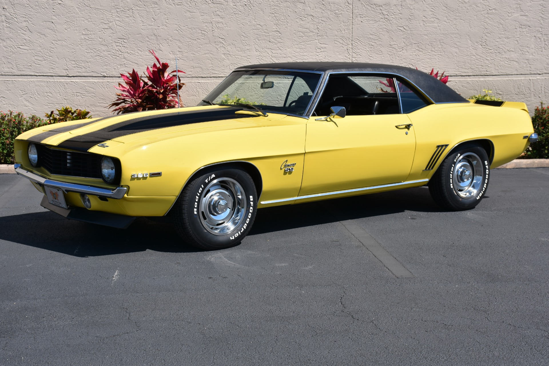 1969 Daytona Yellow Chevy Camaro For Sale
