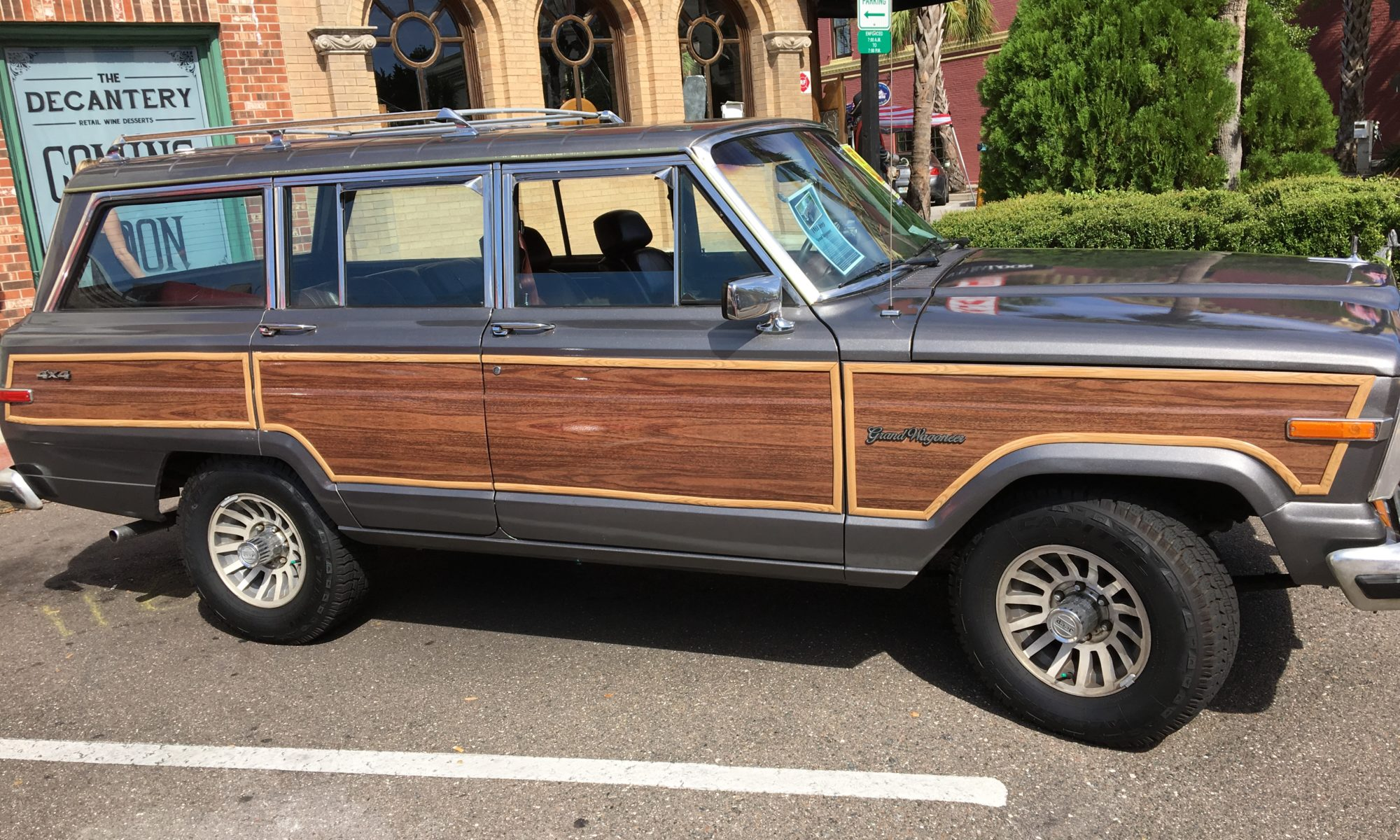 1988 jeep grand wagoneer great american open road great american open road