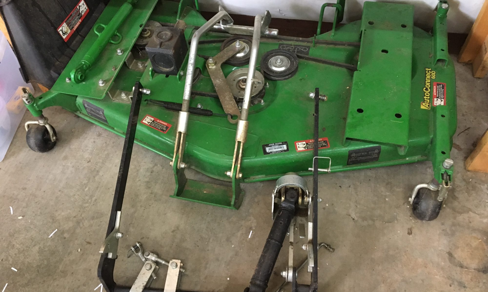 John Deere Belly Mower